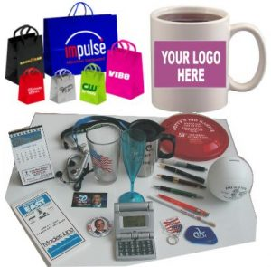 Promotional Items, Advertising Specialty and Business Promotions and Giveaways